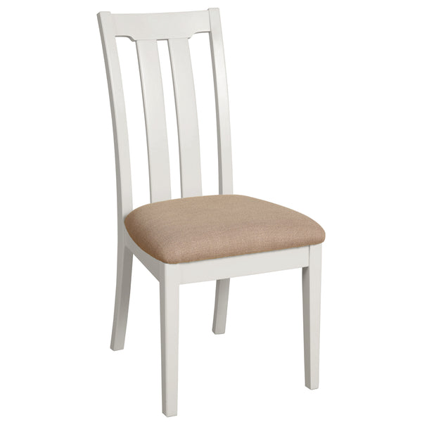 Eton White Slat Back Dining Chair