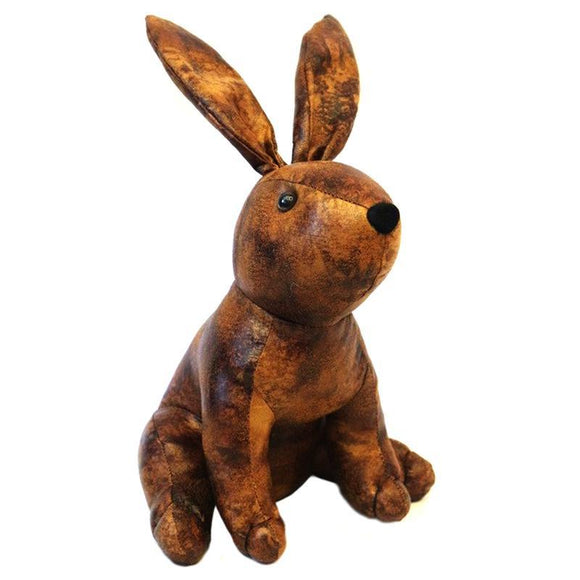 Small Faux Leather Rabbit