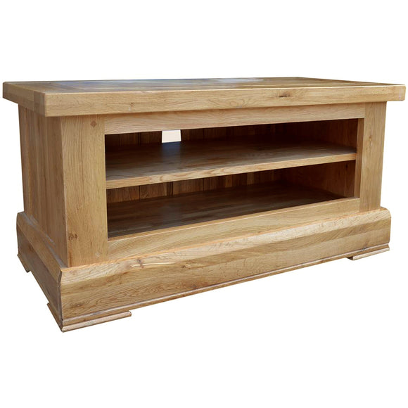 French Oak Small TV Unit