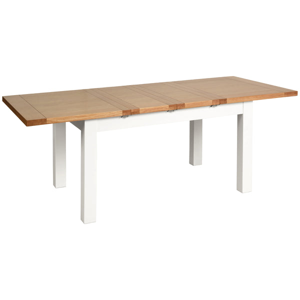 Eton White Medium Dining Table