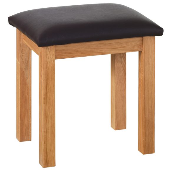 Hampshire Oak Dressing Table Stool