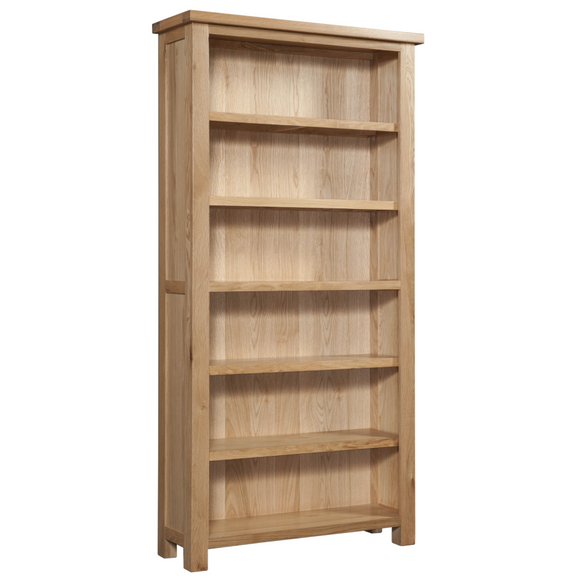 Oxford Oak 6' Bookcase