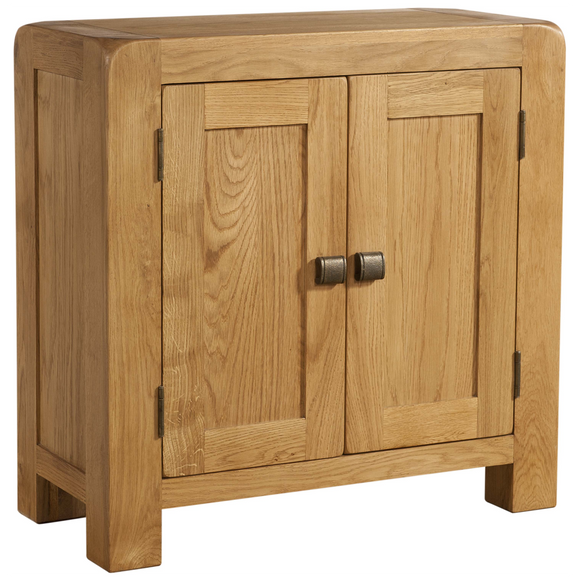 Sway Oak Small Cabinet with 2 Doors
