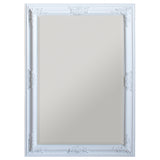 White Vatican Wall Mirror