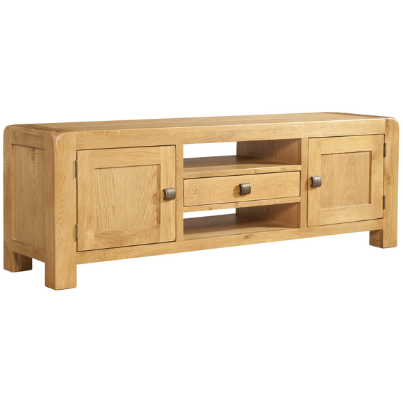 Sway Oak Wide TV Unit
