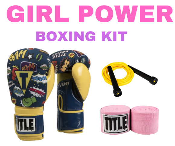 WOMEN'S YELLOW POW STARTER KIT
