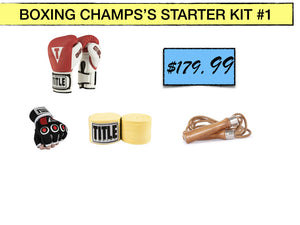SIMPLEMITTS BOXING CHAMPS'S STARTER KIT #1