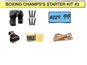 SIMPLEMITTS BOXING CHAMPS'S STARTER KIT #3
