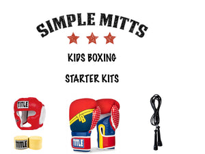 """STRONG WOMAN"" KIDS BOXING STARTER KITS-SIMPLEMITTS.COM"