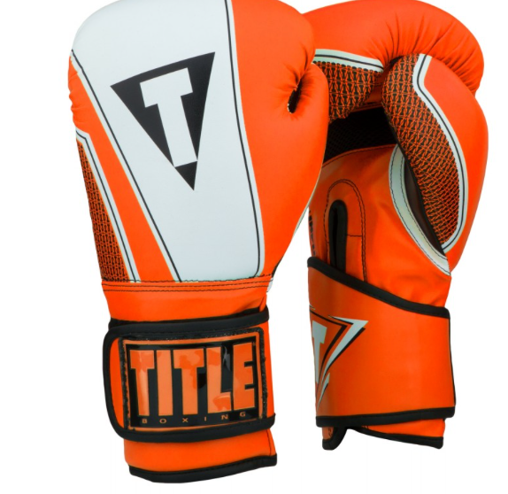 SIMPLEMITTS TITLE INFUSED FOAM NEUROTIC BOXING GLOVES