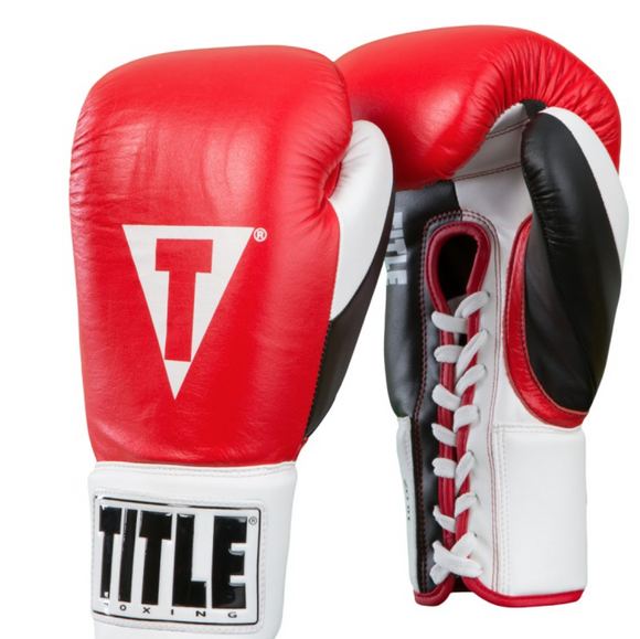 SIMPLEMITTS TITLE GREAT OFFICIAL PRO FIGHT GLOVES