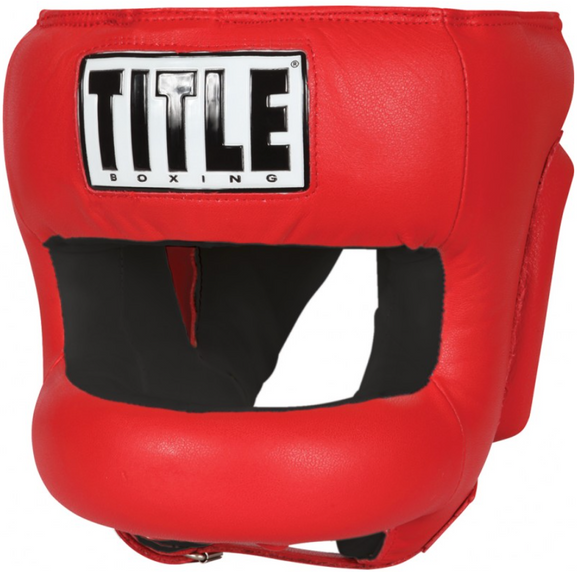 SIMPLEMITTS TITLE FACE PROTECTOR TRAINING HEADGEAR