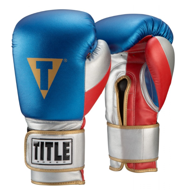 SIMPLEMITTS- TITLE BOXEO MONEY METALLIC TRAINING GLOVES
