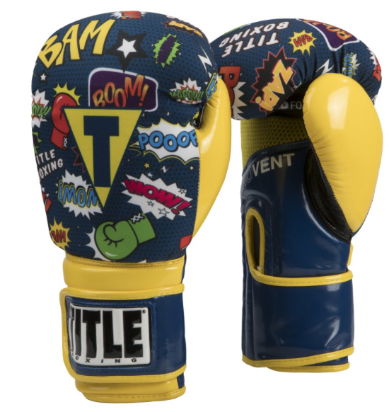 TITLE INFUSED FOAM SUPER HERO BOXING GLOVES-SIMPLEMITTS.COM