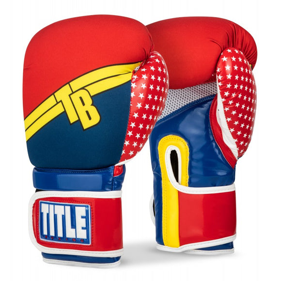 TITLE INFUSED FOAM JUSTICE BOXING GLOVES-SIMPLEITTS.COM