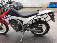 Honda CRF250L multi use pannier rack