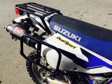 Suzuki DR650 Rear Luggage Rack With RotopaX Mount Function