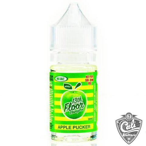 13th Floor Salt E-Liquid - Apple Pucker - 30ml