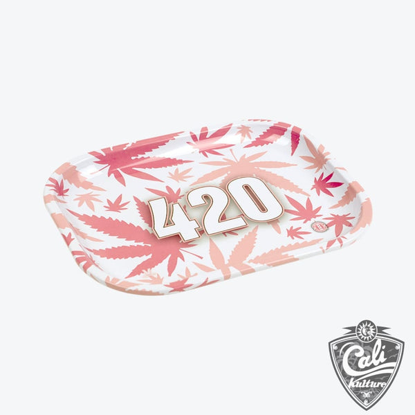 420 Pink - Rolling Tray Small 7'' X 5.5''