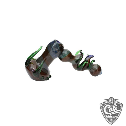 7'' Thorn Hammer Glass Bubbler