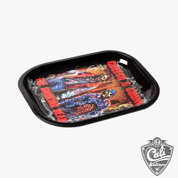 Cheech & Chong: The Smoking Dead - Rolling Tray Small 7'' X 5.5''