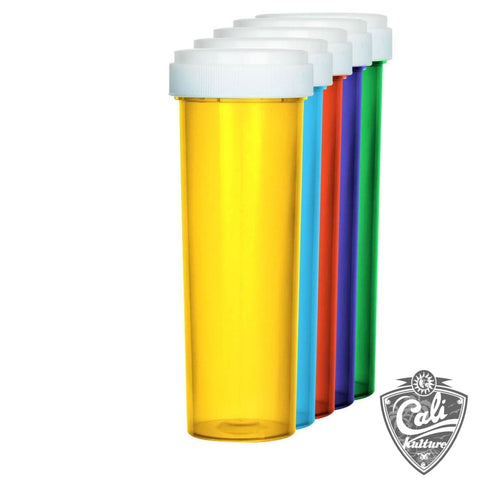 Child Proof Reversible Cap Vials 60 Dram 100ct Case