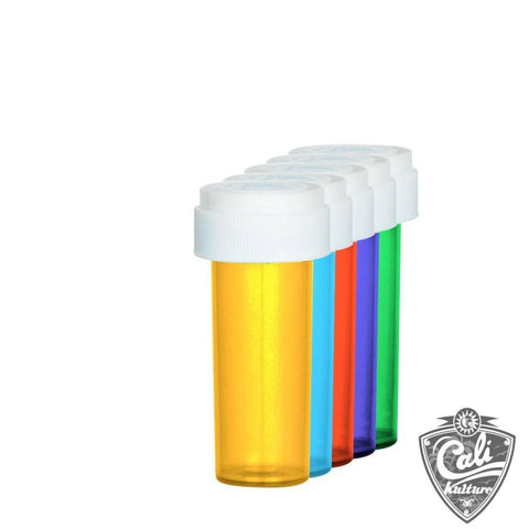 Child Proof Reversible Cap Vials 8 Dram 410ct Case