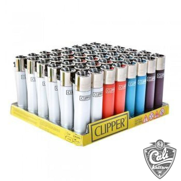 Clipper Lighter Metallic Colors - 48Ct