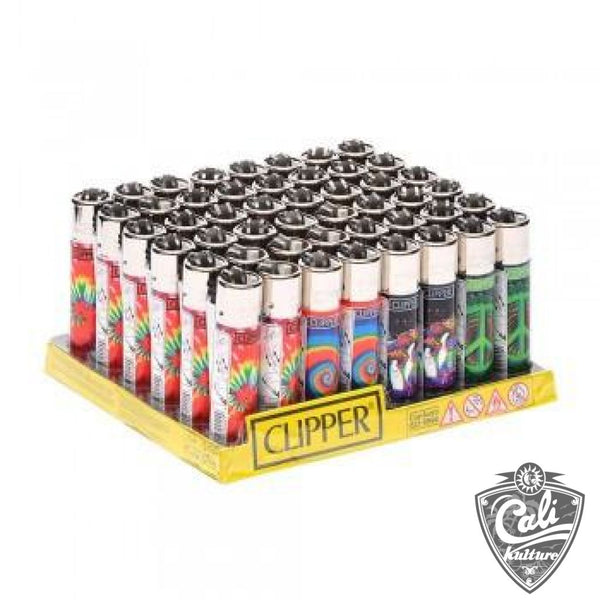 Clipper Lighter Trippy Hippie Edition - 48 Ct