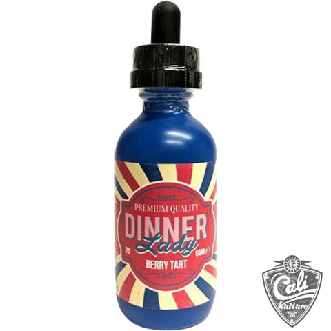Dinner Lady E-Liquid 60ml  - Berry Tart