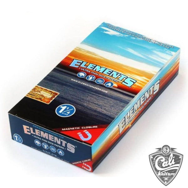 Elements Ultra Thin Rice Rolling Paper - 1 1/4  (1.25) Size