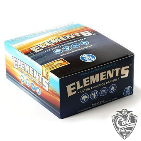 Elements Ultra Thin Rice Rolling Papers -  King Size Slim
