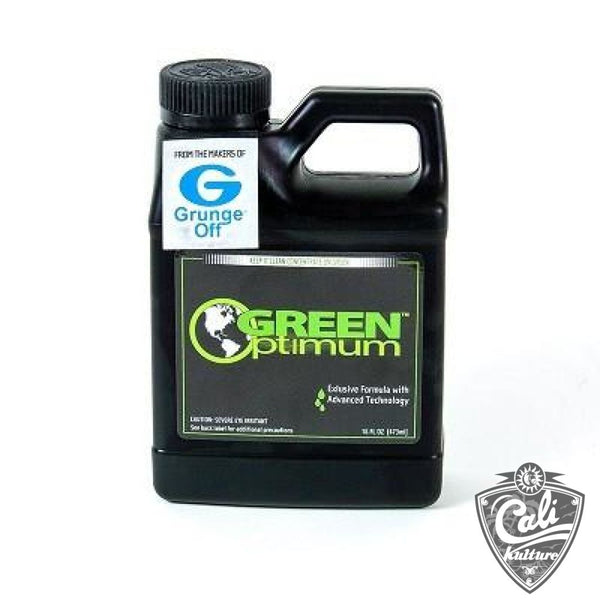 Green Optimum Glass Cleaner by Grunge Off  16oz