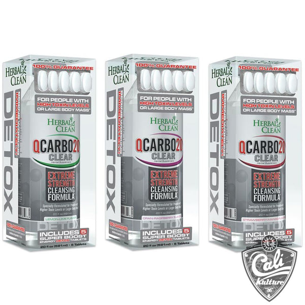 Herbal Clean QCarbo Clear Detox 20oz