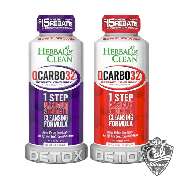 Herbal Clean QCarbo Detox 32oz