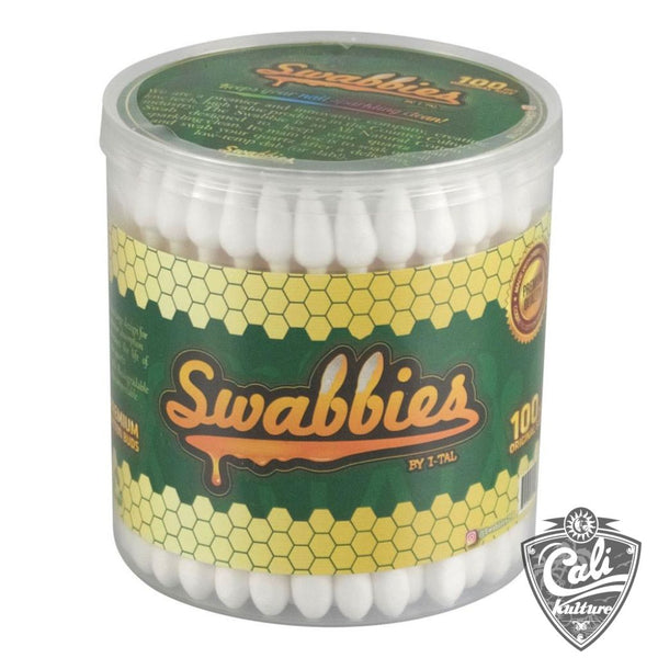 I-Tal Swabbies Dab Nail Cotton Swabs 100 Pack