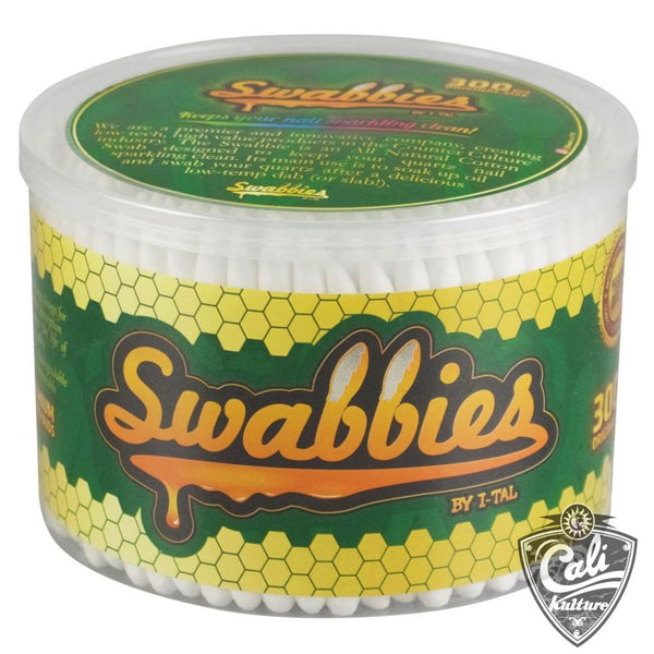 I-Tal Swabbies Dab Nail Cotton Swabs 300 Pack
