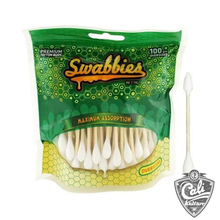 I-Tal Swabbies Dab Nail Cotton Swabs Oversized 100 Pack