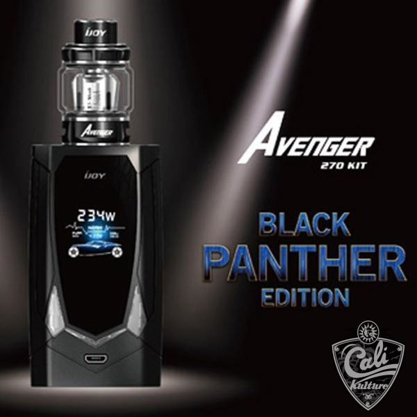 IJOY Avenger 270 Voice Control 234W Starter Kit - Black Panther Edition.