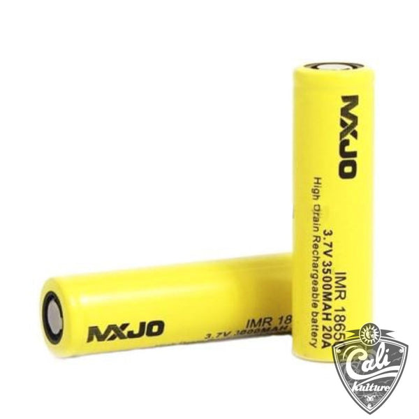 MXJO 18650 3500MAH 20A 3.7V Flat Top High Drain Battery