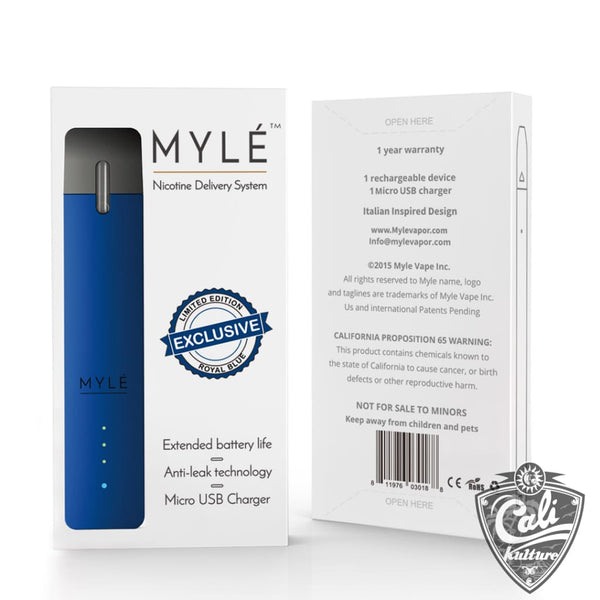 Myle Pod System Battery And USB Charger