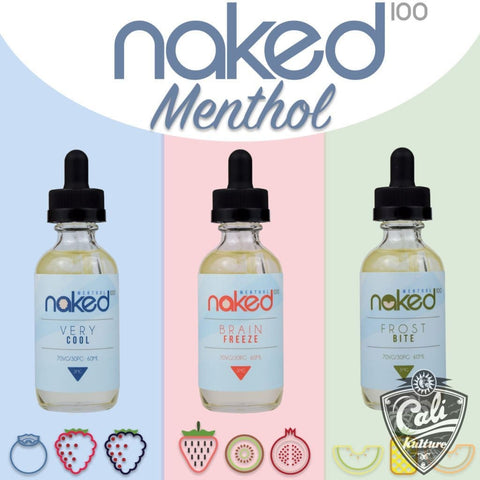Naked Menthol Starter Pack 60ML
