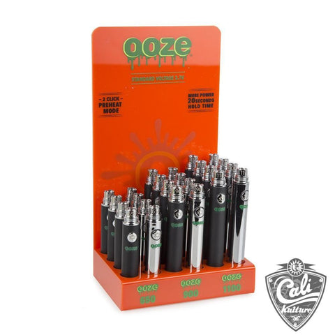 Ooze Battery Display 24ct