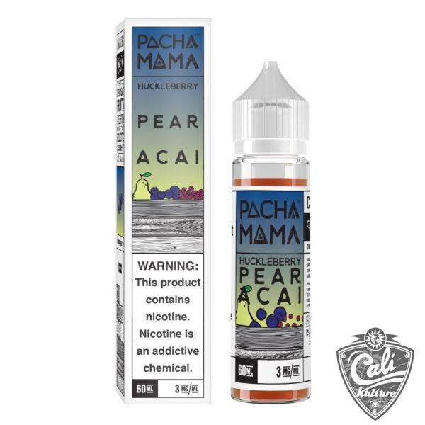 Pachamama E-liquid Huckleberry Pear Acai - 60ML