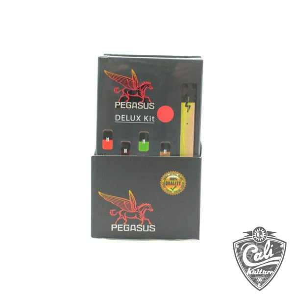 PEGASUS  Starter Kit Includes - Device Charger & 4 Flavor Pods