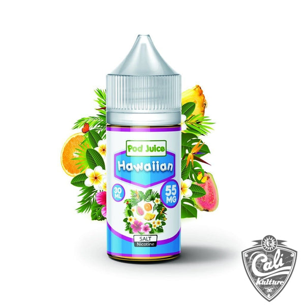 Pod Juice Salt E- Liquid 30ml - Hawaiian