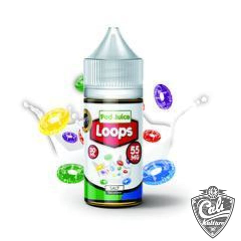 Pod Juice Salt E- Liquid 30ml - Loops
