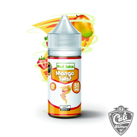 Pod Juice Salt E- Liquid 30ml - Mango Twist