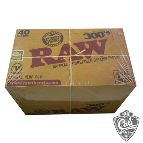 Raw Classic 300's 1 1/4 Size 40Ct