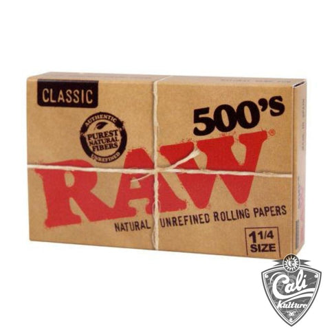 Raw Classic 500's 1 1/4 Size 20Ct